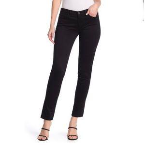 AG The Stilt Cigarette Black Jeans